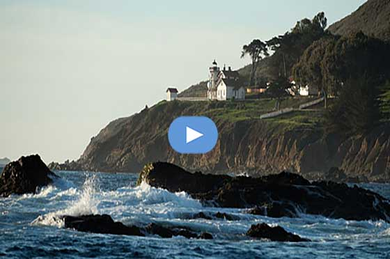 Point San Luis Lighthouse Video