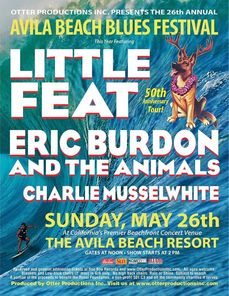 Avila Beach Blues Fest