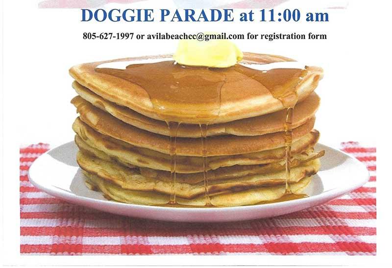 Pancake Breakfast on 4th of July