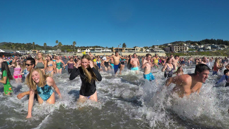 Avila Beach Polar Bear Plunge