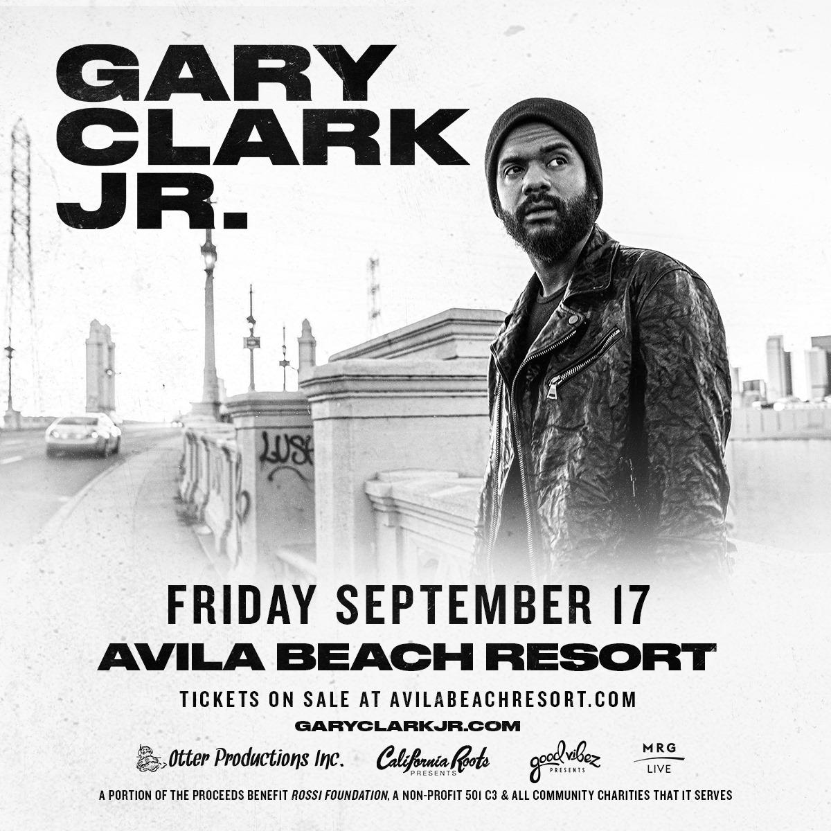 Gary Clark concert 2021